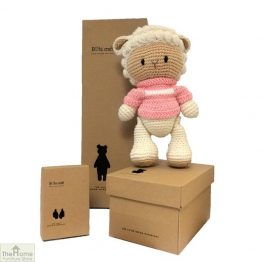 Sheep Knitted Toy Pink_1