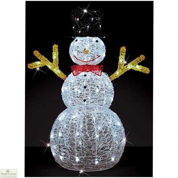 90cm LED Christmas Snowman