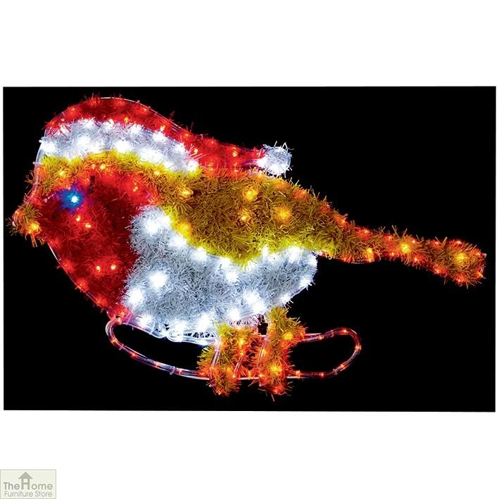 LED Robin Tinsel Light