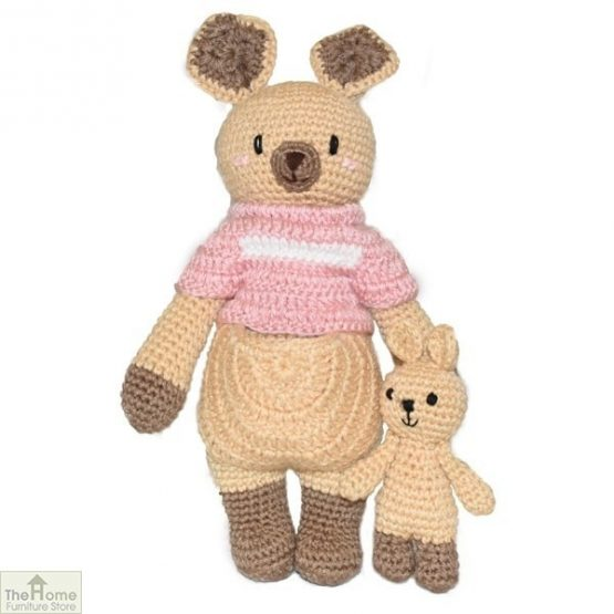 Kangaroo Knitted Toy_1