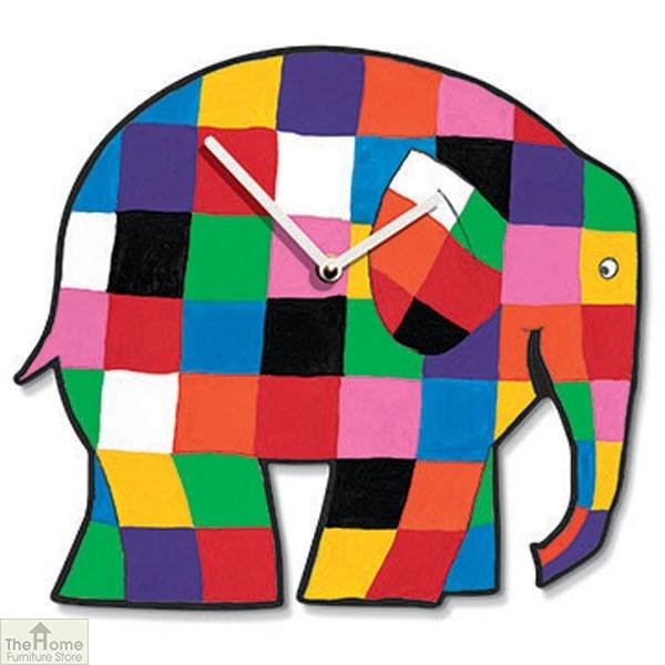 Elmer ElephantClock