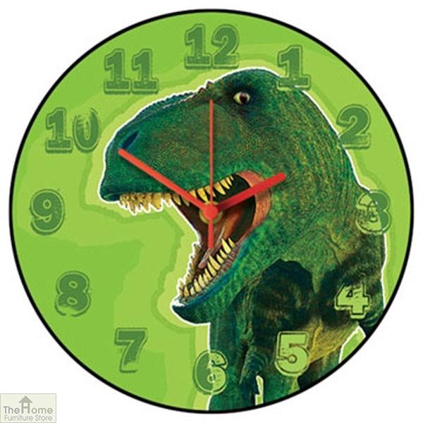 T Rex Dinosaur Wall Clock
