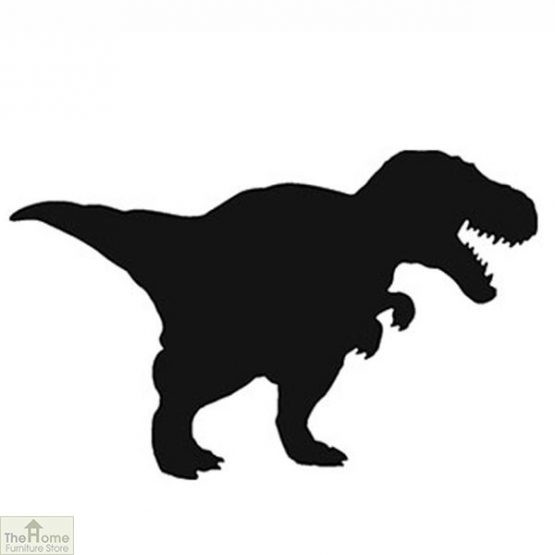 T-Rex Dinosaur Shaped Chalk Board