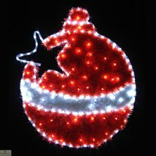 LED Christmas Bauble Light