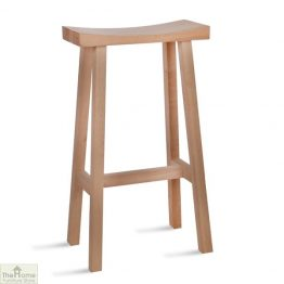 Tall Oak Bar Stool