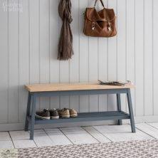 Hallway Bench Charcoal