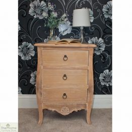 Lyon 3 Drawer Bedside Table_1