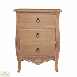 Casamoré Lyon 3 Drawer Bedside Chest