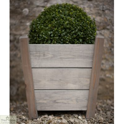 Spruce Wood Tapered Planter_2
