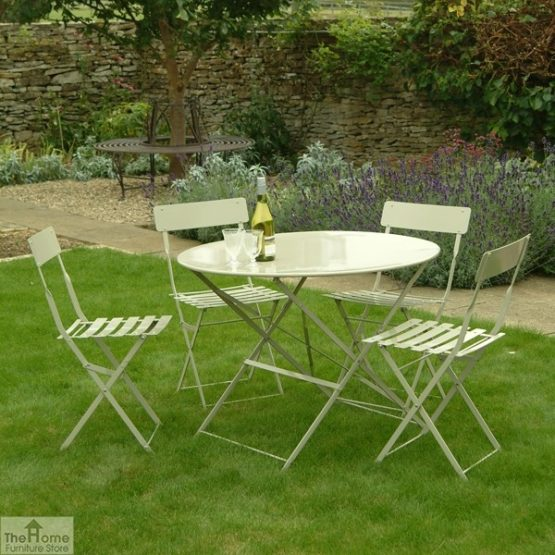 Large Round 4 Seater Dining Set_2