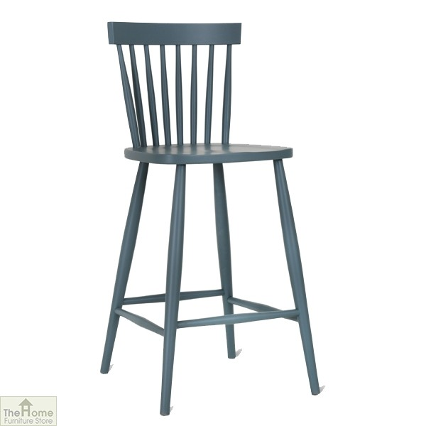 Spindle Back Bar Stool Charcoal