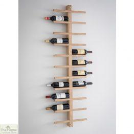 Raw Oak Wine Rack_1