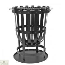 Traditional Outdoor Large Steel Brazier