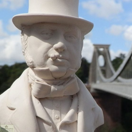 Brunel Bust Ornament_2