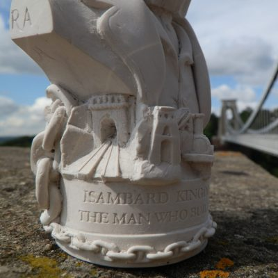 Brunel Bust Ornament_3