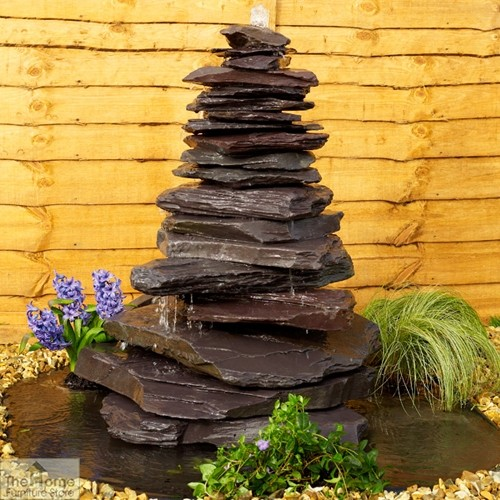 Cascading Pyramid Water Feature