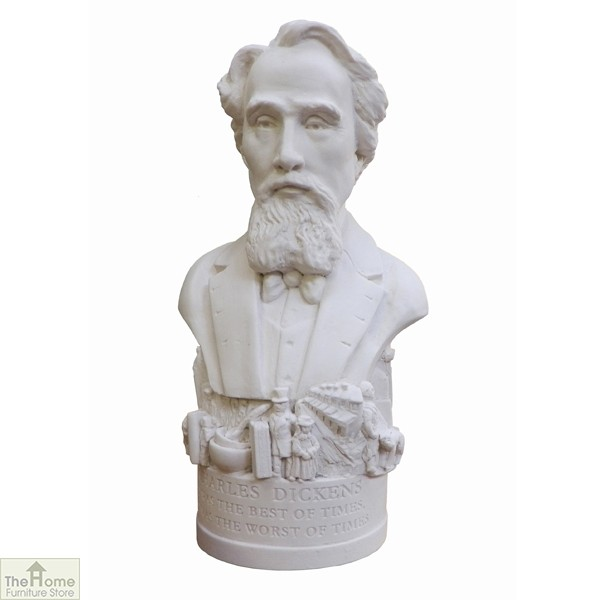 Charles Dickens Bust Ornament