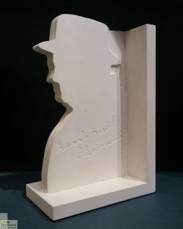 Winston Churchill Single Bookend_1