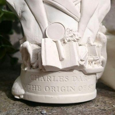Charles Darwin Bust Ornament_3