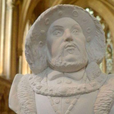 Henry VIII Bust Ornament_2