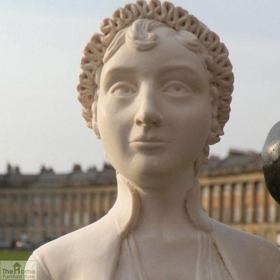 Jane Austen Bust Ornament_2