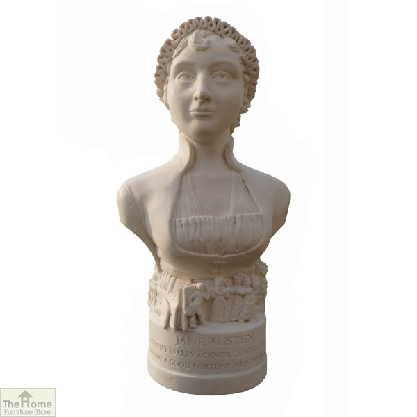 Jane Austen Bust Ornament
