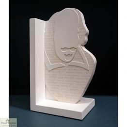 William Shakespeare Single Bookend