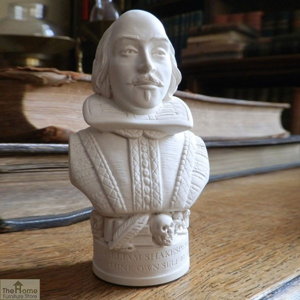 William Shakespeare Bust Ornament