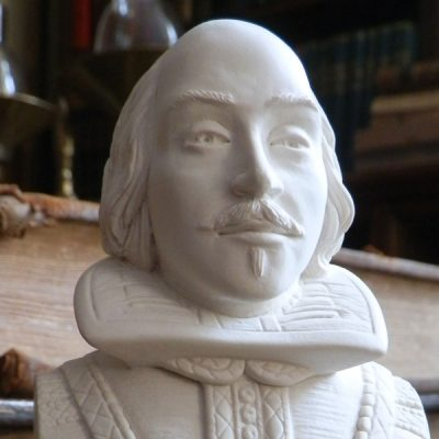 William Shakespeare Bust Ornament_2