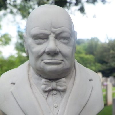 Winston Churchill Bust Ornament_2