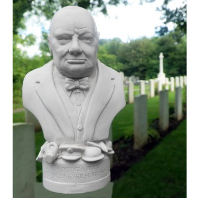 Winston Churchill Bust Ornament_1