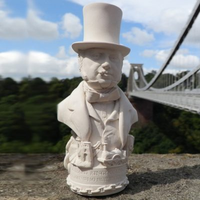 Brunel Bust Ornament_1
