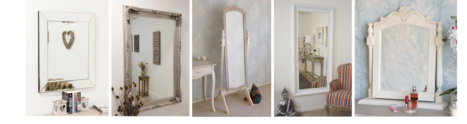 Mirrors wall mirrors full length mirrors at the home furniture store Home furniture outlet uk