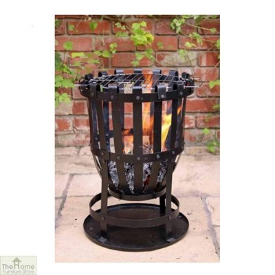 Traditional Outdoor Large Steel Brazier_1