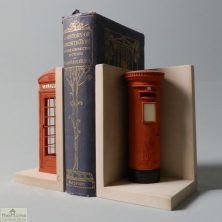 Telephone and Post Box Bookends