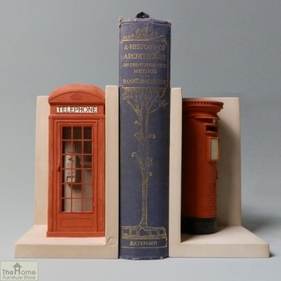 Telephone and Post Box Bookends_1