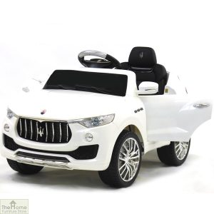 Maserati White Ride on Car