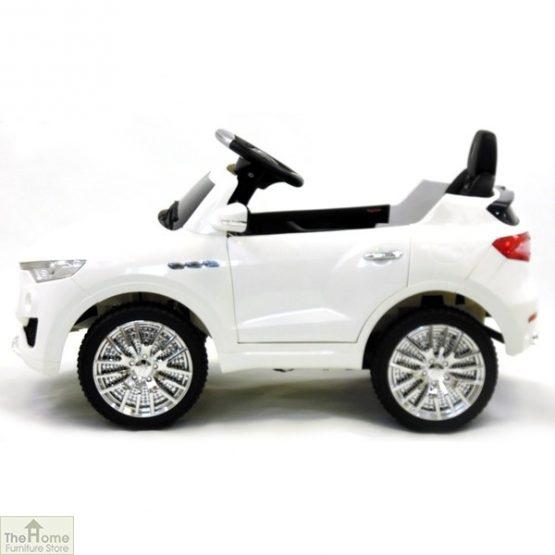 Maserati White Ride on Car_2