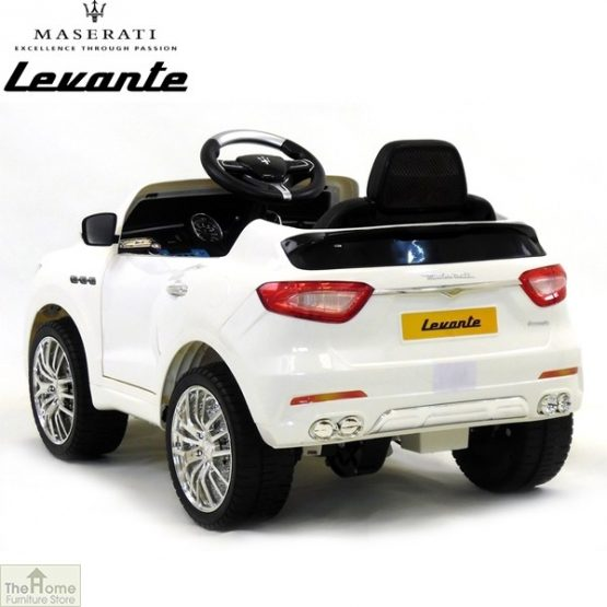 Maserati White Ride on Car_4