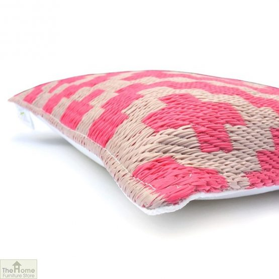 Pink and Cream Cushion_2
