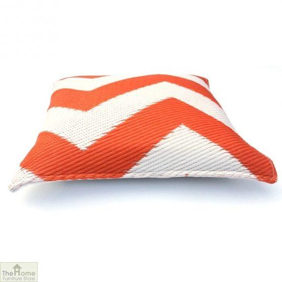 Orange and White Cushion_1