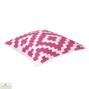 Pink and Cream Cushion