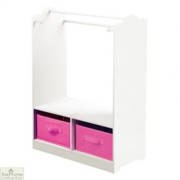 White Dress Up Storage Unit