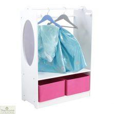 White Dress Up Storage Unit