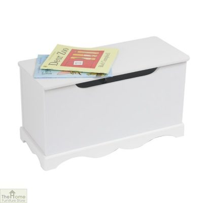 White Wooden Toy Box_2