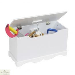 White Wooden Toy Box_1