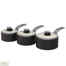 Black Retro Ceramic Saucepans