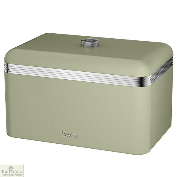 Green Retro Bread Bin