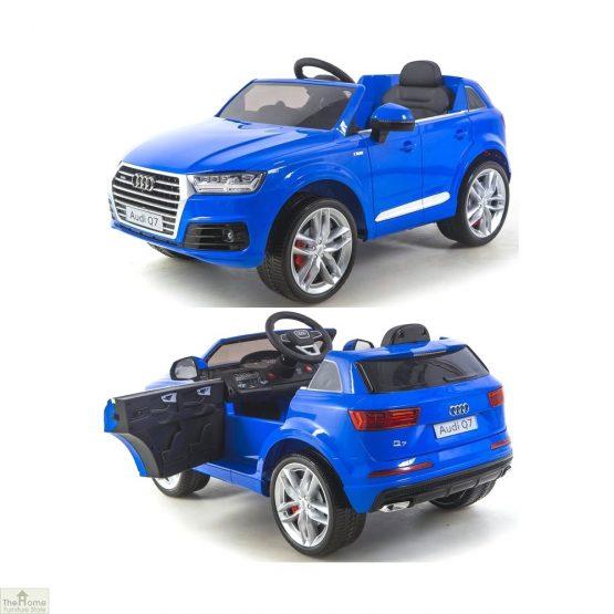 Audi Blue Ride on Car_8
