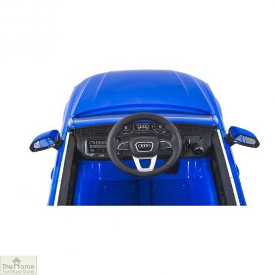 Audi Blue Ride on Car_6